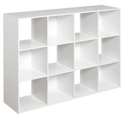 ClosetMaid 1290 Cubeicals 12-Cube Organizer, White - Amazon