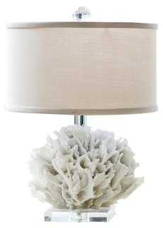 Ribbon Coral Lamp, Resin - One Kings Lane