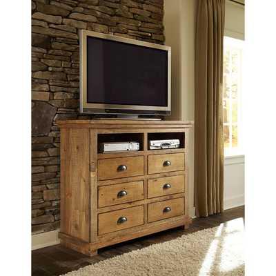 Willow 6 Drawer Media Chestby Progressive Furniture - Wayfair