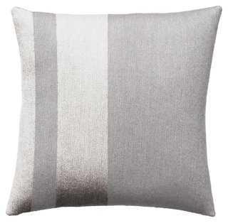 Avenue 18x18 Wool Pillow - One Kings Lane