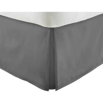 "Becky Cameronâ""¢ Luxury Bed Skirt-Gray-King - Wayfair"