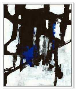 "Ilana Greenberg, Scattered Memories - 32""W x 40""H - Framed - One Kings Lane"