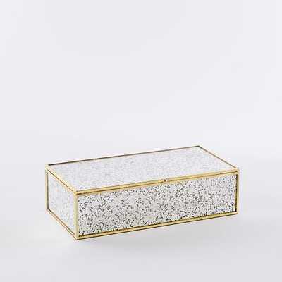 Foxed Mirror Jewelry Box - West Elm