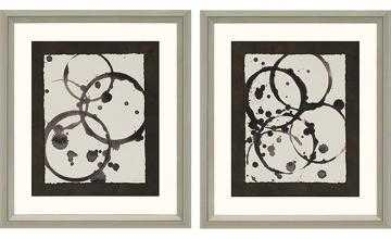 "ASTRO BURST FRAMED WALL ART II - SET OF 2-35""H x 31""W x 2""D-Framed - Home Decorators"