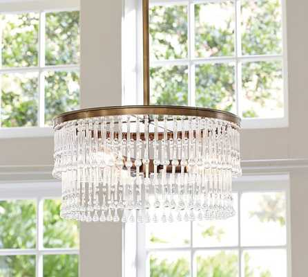 La Boheme Crystal Chandelier - Pottery Barn