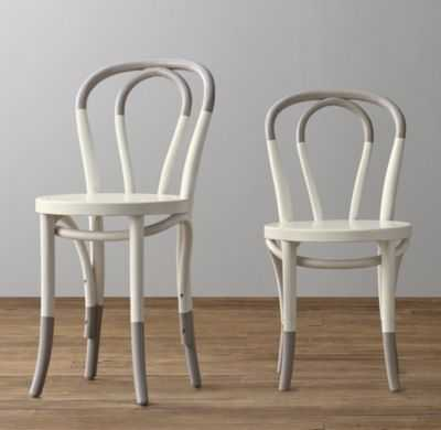 paint-dipped french café play chair set of 2 - RH Baby & Child