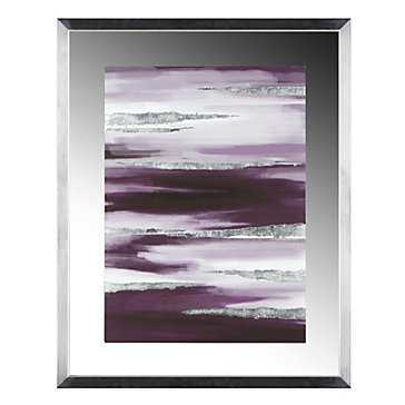 Amethyst Hues 1 - 23.75''W x 29.75''H - Framed - Z Gallerie