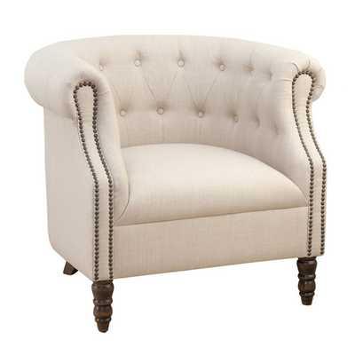 Jofran Grace Tufted Arm Chair - Wayfair