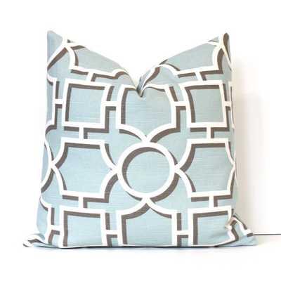 Lattice Decorative Designer Pillow Cover - Etsy