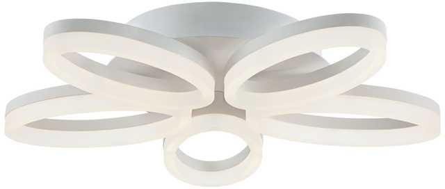 "Possini Euro White Bloom 21 3/4"" Wide LED Ceiling Light - Lamps Plus"