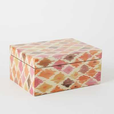 Neo Geo Decoupage Jewelry Boxes - Large Rectangle - West Elm