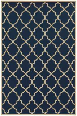 "NEWPORT AREA RUG - NAVY - 5'3"" x 7'6"" - Home Decorators"