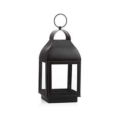 Martina Bronze Metal Lantern - Small - Crate and Barrel