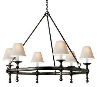 Classic Ring Chandelier - One Kings Lane