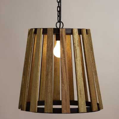 Wood Slat Pendant Lamp - World Market/Cost Plus