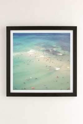 "Max Wanger Waikiki #5 Art Print-16"" x 16""-Framed - Urban Outfitters"