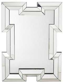 Bohan Oversize Mirror, Clear - One Kings Lane