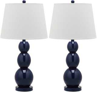 Brenna Table Lamp Set - One Kings Lane