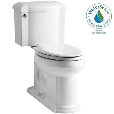 Devonshire two-piece toilet - Home Depot