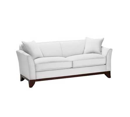 Greenwich Upholstered Sofa - Loveseat - Pottery Barn