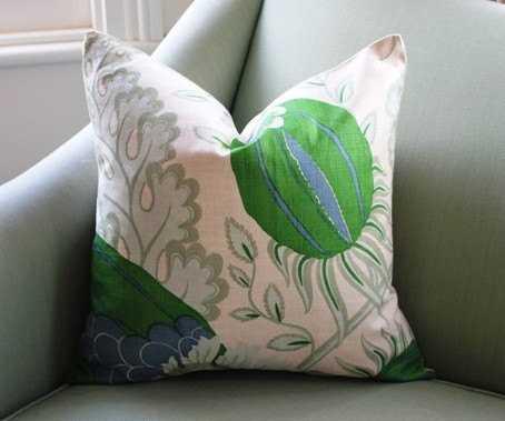 "Christopher Farr Carnival Pillow Cover.- 20""x 20""- Insert Sold Separately - Etsy"