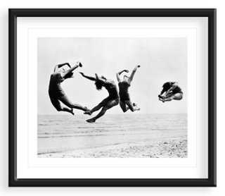 Beach Exercise, 1935 - 40x33 - Framed - One Kings Lane
