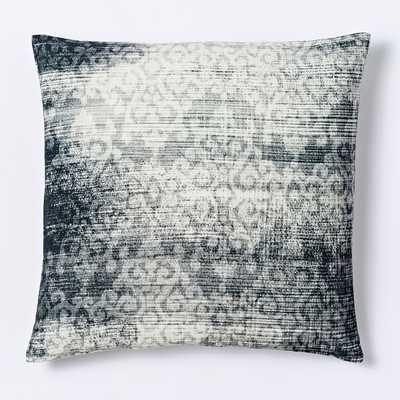 Velvet Scroll Pillow Cover - West Elm