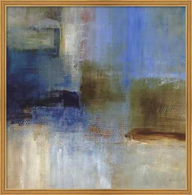 Blue Abstract by Simon Addyman-Framed - framedart.com