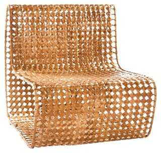 Vee Side Chair, Copper - One Kings Lane