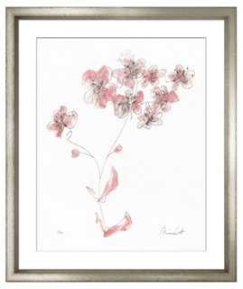 Minnie Carter, Flowers Pink I - One Kings Lane