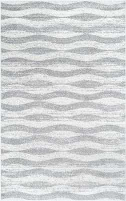 Granite SM02 Geometric Waves Rug - Rugs USA