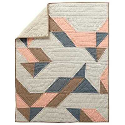 Pattern Casual Baby Quilt (Pink) - Land of Nod