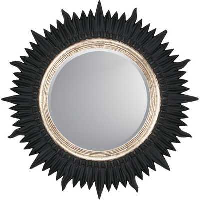 Starburst Contemporary Wall Mirror - Wayfair
