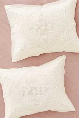 Plum & Bow Arisa Embroidered Sham Set- - Set of 2 - Urban Outfitters
