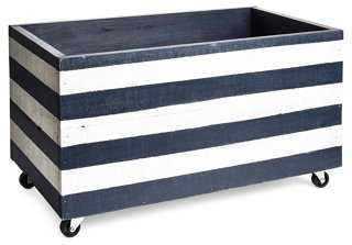 Small Crate w/Wheels - One Kings Lane