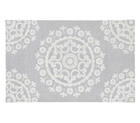 McKenna Rug - Gray - 8' x 10' - Pottery Barn Kids