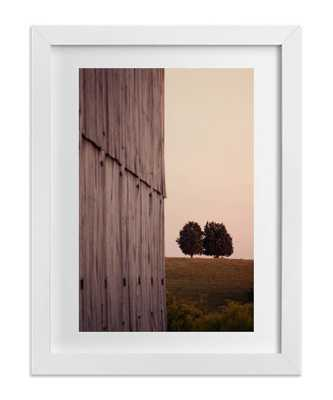 """Together on a Hill - 18"""" x 24"""" - Framed - Domino"""