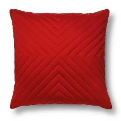 Room Essentials Oversized Quilted Jersey Pillow - Target