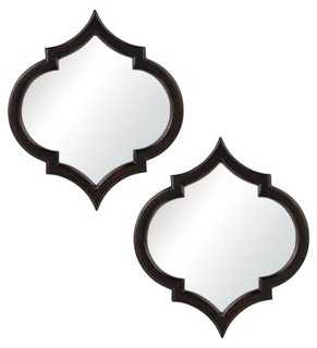 S/2 Zelda Wall Mirror - One Kings Lane