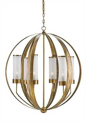 Agnes Orb Chandelier - Currey and Company