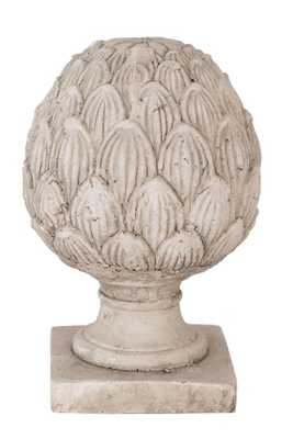 TERRA COTTA ARTICHOKE FINIAL - Small - Home Decorators