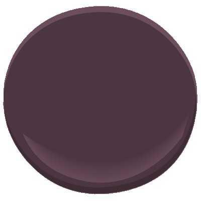 Benjamin Moore ben - Dark Purple - Benjamin Moore