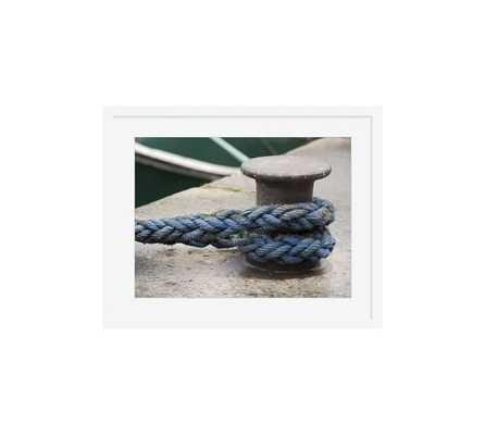 "Boat Knot Framed Print - 16""x20"" - Pottery Barn"