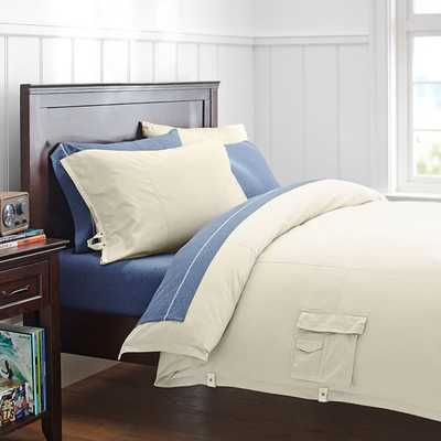 Duvet Cover - Twin/Stone - Pottery Barn Teen