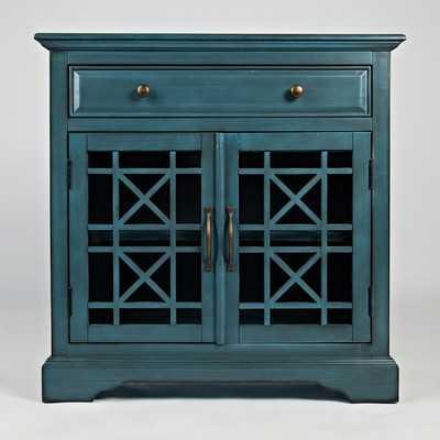 Craftsman Accent Chest - Antique Blue - Wayfair