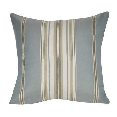 "Anis Throw Pillow, Light Blue, 21"" H x 21"" W - Polyfill - Wayfair"