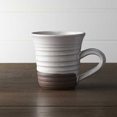 Studio Dark Clay Large Mug - Crate and Barrel