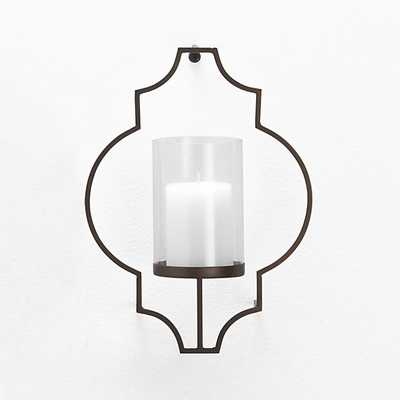 Rosaline Metal Wall Candle Holder - Crate and Barrel
