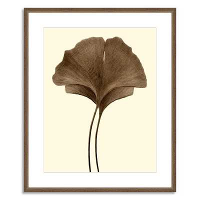 Offset for west elm Print - Ginkgo Leaves I - Large, Mat (Framed) - West Elm