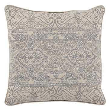 "Lourdes Pillow 22"" - Feather/Down insert - Z Gallerie"
